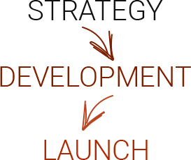 Strategy, development, launch