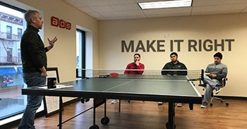 It's Not Just a Ping-Pong Table
